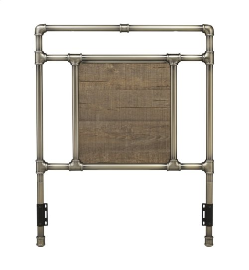 Elkton Bed - Twin, Antique Brass Finish