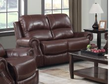 EM1193 Collection - Dual Reclining Loveseat with Power Headrest
