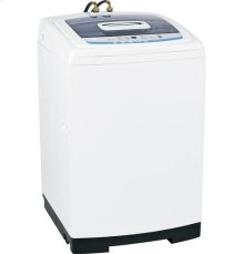 GE Space-Saving 2.7 DOE Cu. Ft. Capacity Portable Washer with Stainless Steel Basket