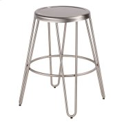 Avery Metal Counter Stool - Stainless Product Image