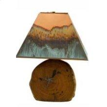 "20"" Mesquite Lamp W/Copper Shade"