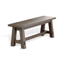 Palm Beach Bench, Wood Seat