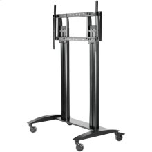 "SmartMount® Flat Panel Cart For 55"" to 98"" Displays"