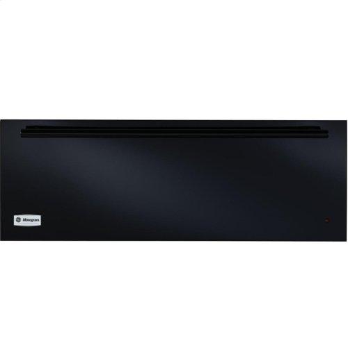 """GE Monogram® 30"""" Black Warming Drawer"""
