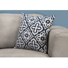 "PILLOW - 18""X 18"" / DARK BLUE MOTIF DESIGN / 1PC Product Image"