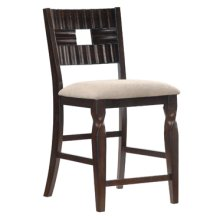 Bayfield Twisted Leg Counter Stool - 2 pcs in 1 carton