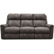 EZ Motion EZ1C00 Double Reclining Sofa with Nails EZ1C01N