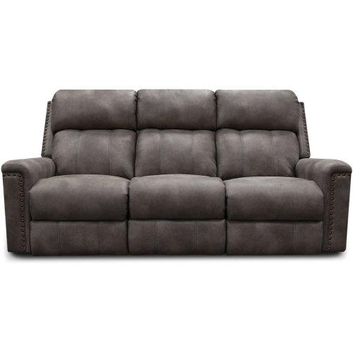 EZ Motion EZ1C00 Double Reclining Sofa with Nails EZ1C01N