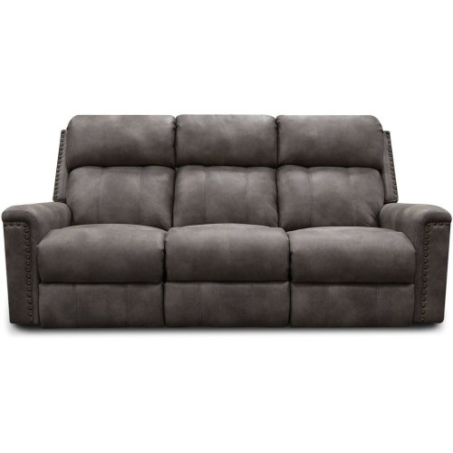 EZ Motion EZ1C00H Double Reclining Sofa with Nails E1C01HN