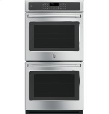 "GE Cafe™ Series 27"" Built-In Double Convection Wall Oven"