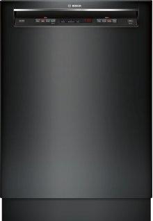 "24"" Recessed Handle Dishwasher 300 Series- Black SHE53TF6UC"
