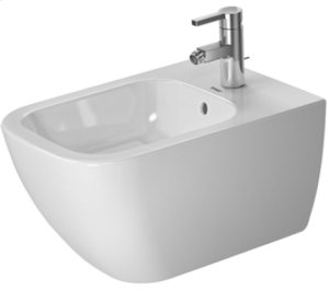 White Happy D.2 Bidet Wall-mounted Product Image