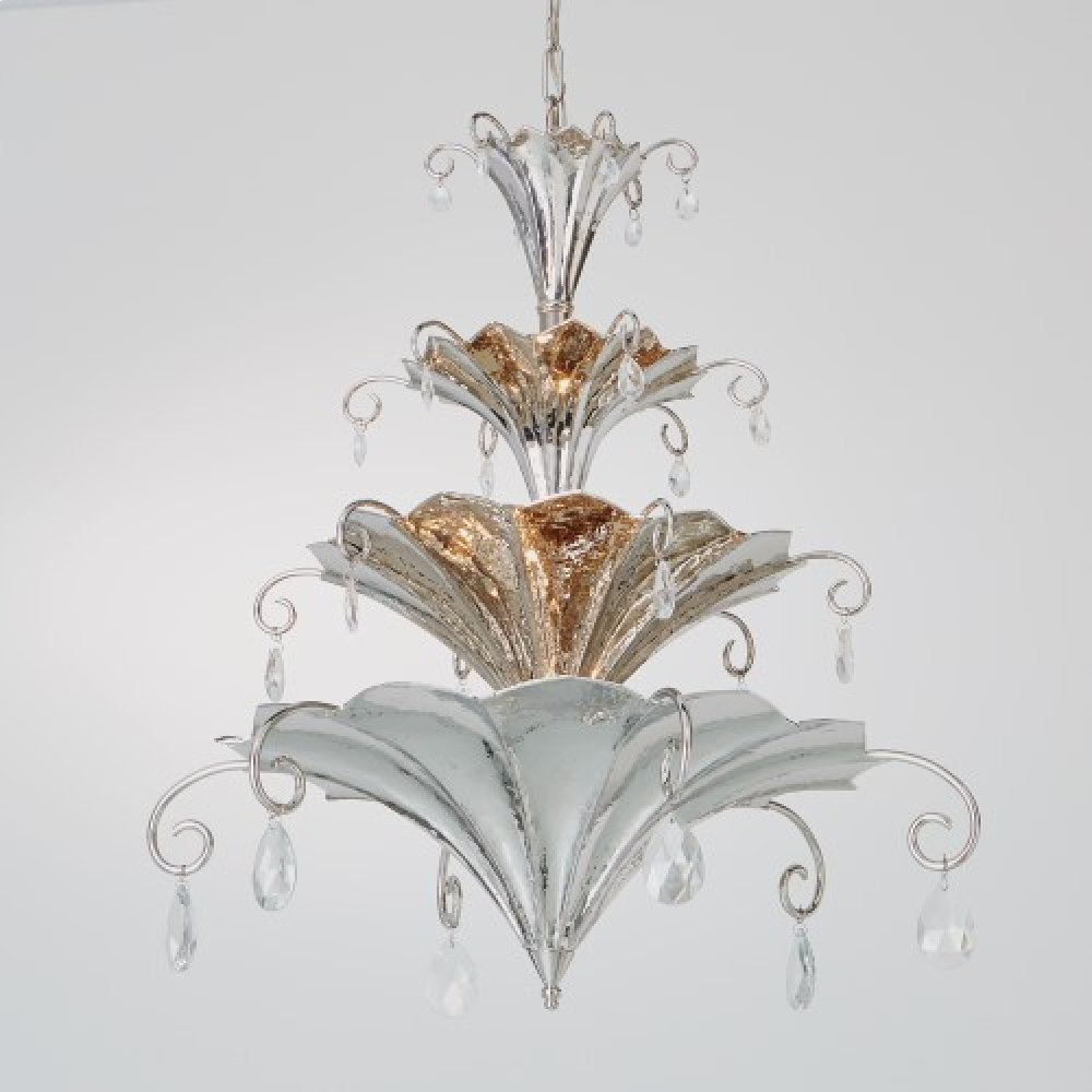 Chinoise Chandelier-Nickel