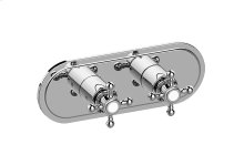 Canterbury M-Series Valve Horizontal Trim with Two Handles