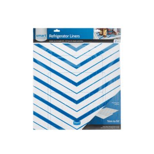 ElectroluxTrim-to-Fit Refrigerator Liner, Blue Chevron 2 Pack
