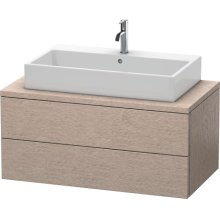 Delos Vanity Unit For Console, Cashmere Oak