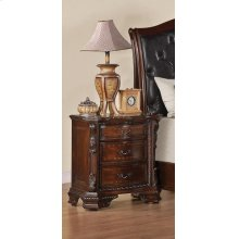 Maddison Traditional Two-drawer Nightstand