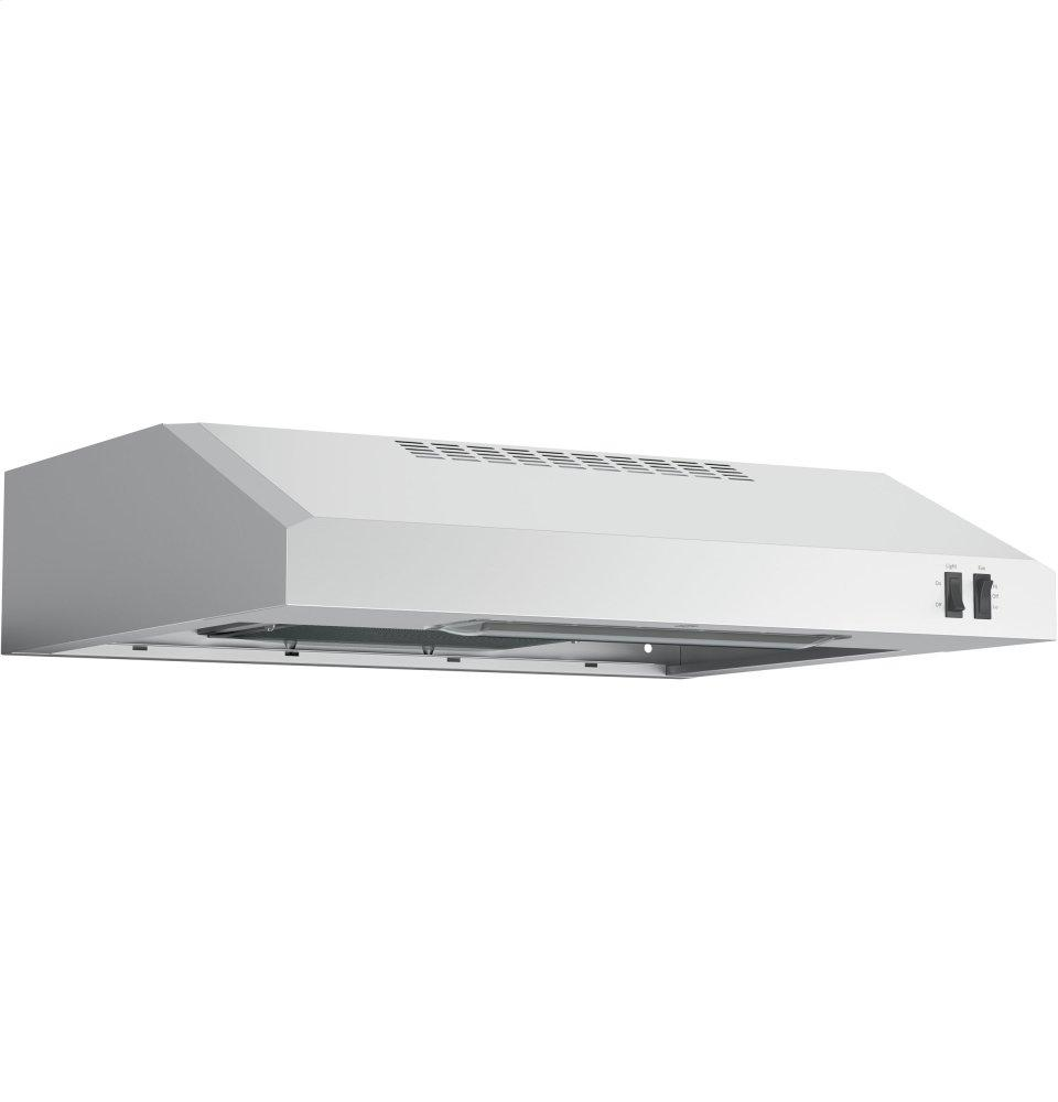 """GE(R) 24"""" Under The Cabinet Hood  STAINLESS STEEL"""