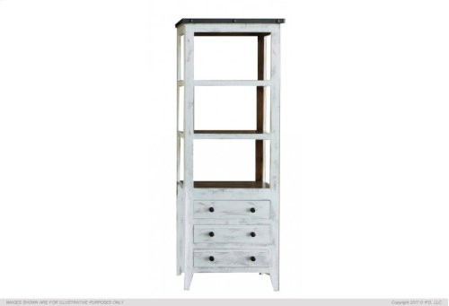Universal Pier, 3 Drawer, 3 Shelves