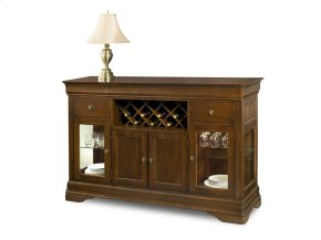 Louis Philippe Credenza with Wine Package