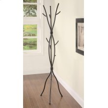 Casual Brown Twig Style Metal Coat Rack