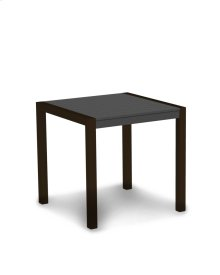 """Textured Bronze & Slate Grey MOD 30"""" Dining Table"""