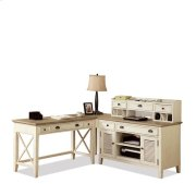 Coventry Corner Unit Weathered Driftwood/Dover White finish Product Image