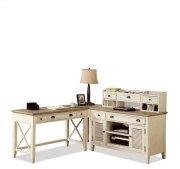 Coventry Corner Unit Weathered Driftwood/Dover White finish Product Image