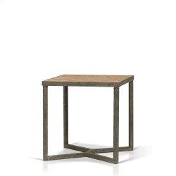 Ripley Parquet Top End Table