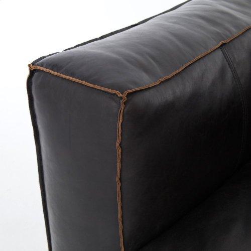 Single - Left Arm Facing Configuration Rider Black Cover Nolita Sectional
