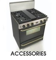Side Trim Kit Side Trim for Sealed Burner Ranges & Cooktops