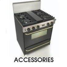 "Cooktop Rear Trim Kit Cooktop Rear Island Trim Kit for 48"" Cooktop"