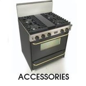 Five StarSide Trim Kit Side Trim for Sealed Burner Ranges & Cooktops