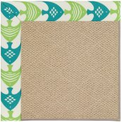 Creative Concepts-Cane Wicker Ocean Current Seaspr Machine Tufted Rugs