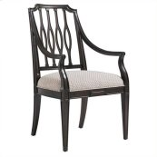 Charleston Regency - Cooper Dining Arm Chair In Classic Mahogany
