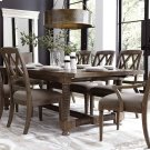 """Compass 104"""" Trestle Dining Table Product Image"""