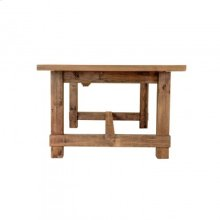 Country Extendable Dining Table- Large