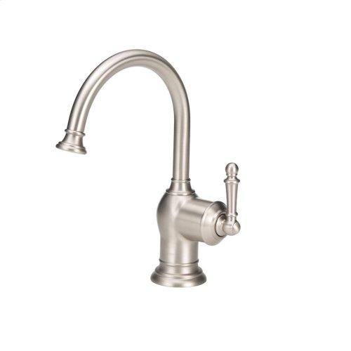 Iris Instant Hot Water Dispenser Faucet (F-H2300-Satin Nickel)
