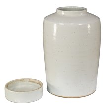 The Stack Ceramic Urn W/Lid