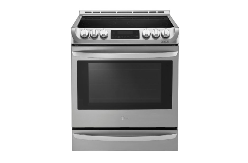 6 3 cu ft electric slide in range with probake convection and easyclean lg appliances - Kitchenaid slide in range reviews ...