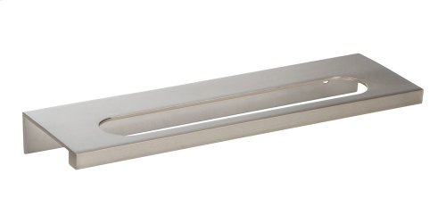 Modern Square Edge Tab Pull 5 1/16 Inch (c-c) - Brushed Nickel