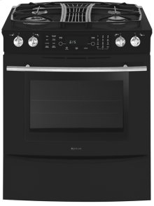 Downdraft Slide-In Gas Range with Convection