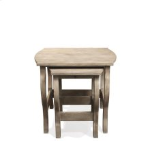 Juniper Nesting Side Table Natural finish