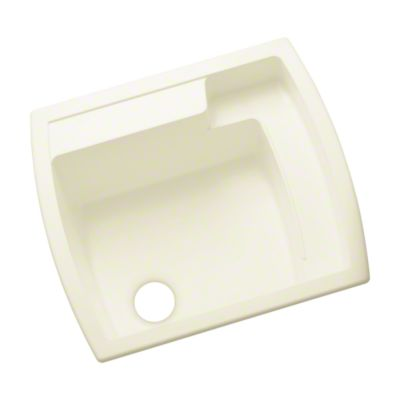 "Latitude® Utility Sink, 25"" x 22"" x 12"" - KOHLER Biscuit"