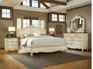CHATEAU soft white finish with mahogany tops Product Image