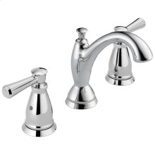 Chrome Traditional Two Handle Widespread Bathroom Faucet