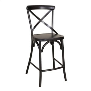 Liberty Furniture IndustriesX Back Counter Chair - Black