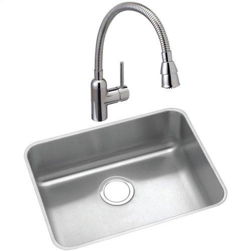 "Elkay Lustertone Classic Stainless Steel 21-1/2"" x 18-1/2"" x 12"", Single Bowl Undermount Sink"