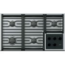 """36"""" Transitional Gas Cooktop Grate Set Product Image"""