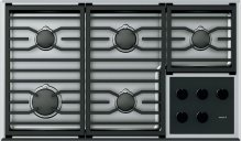 "36"" Transitional Gas Cooktop Grate Set"